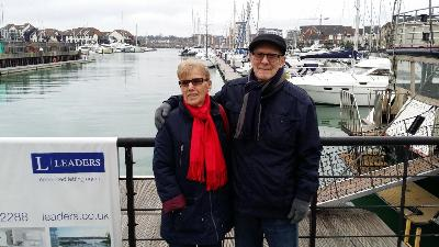 Mom and Dad visiting the U.K. The cherished time left before Dad's memory and recognition was lost. Times like this I will never forget, along with all the wonderful memories of my father and the blessed life I have been privileged to live.