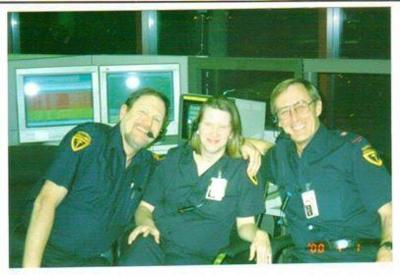 Our Friend Al with workmates from Toronto Paramedic Services (Formerly Toronto EMS