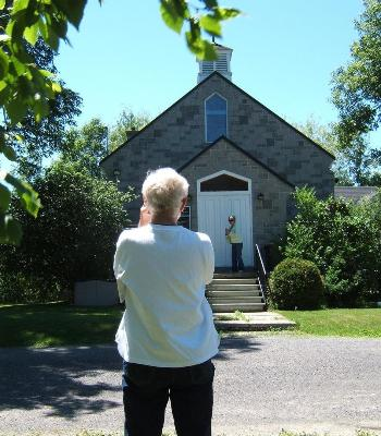 Ron Photographs Another Church