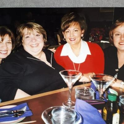 At a Tina Turner concert all together...Rose, Josie, Mary, Lucille
